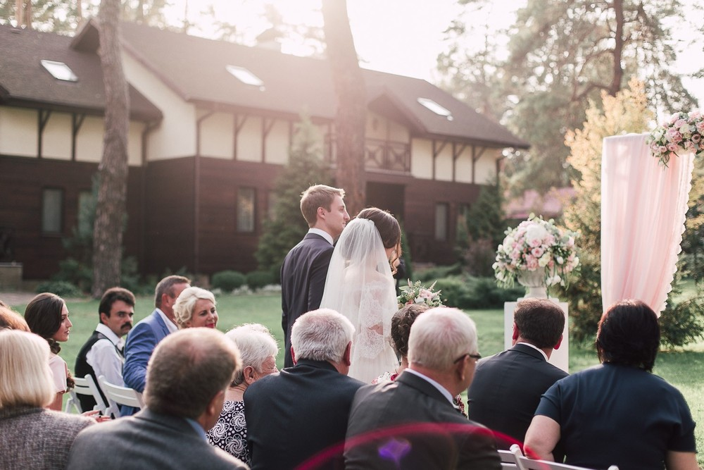 Свадьба в загородном клубе Grand Admiral