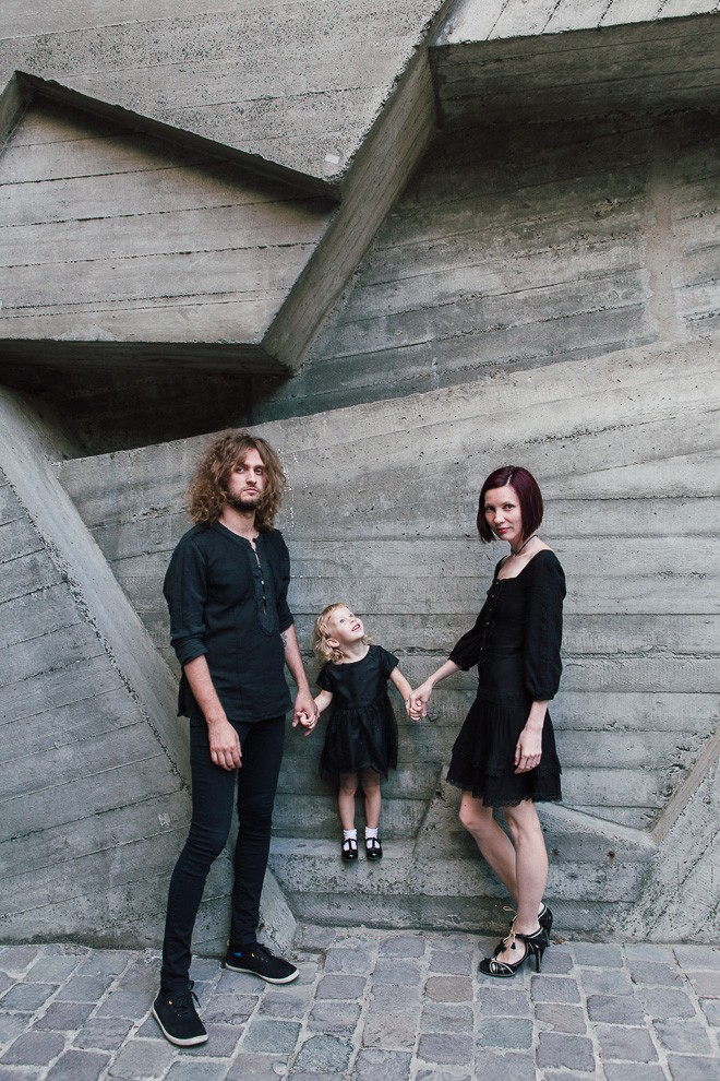 Rock family photosession