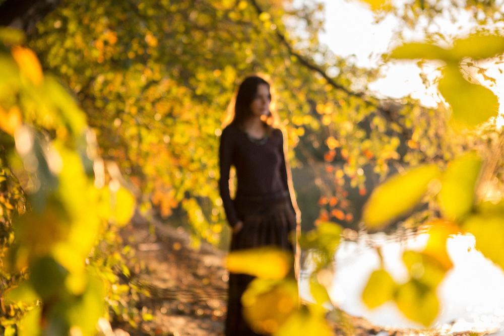 Наташа. Магия женской силы, осени и волшебного озера Свитязь.