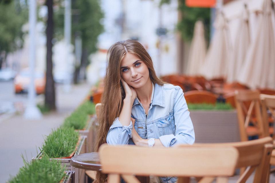 Настя. Фотопрогулка по городу.