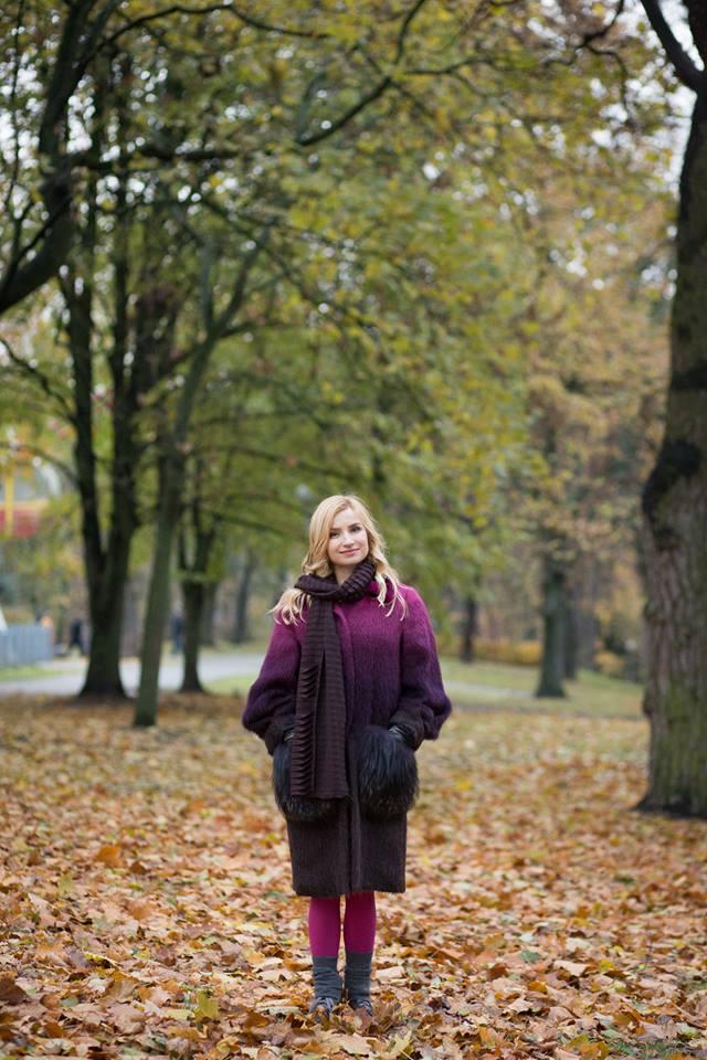 Маша и осень