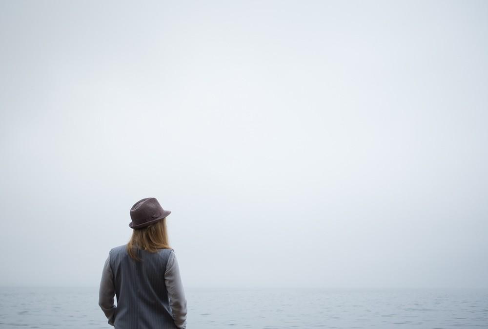 Оттенки серого в туманный день