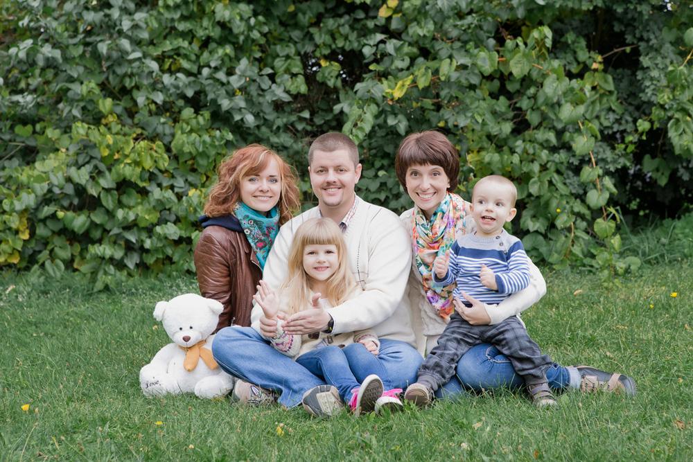 Маленькая семейная фотопрогулка