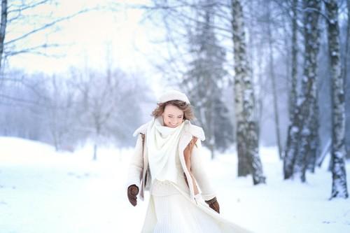 Алена Кохнович и зима