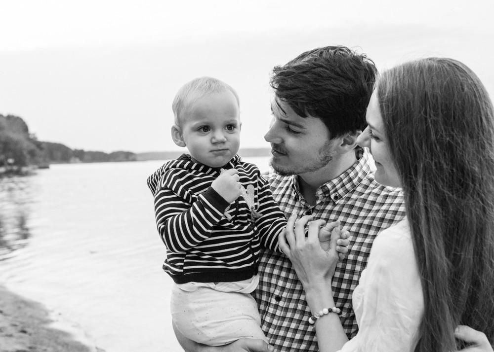 Яна и семья
