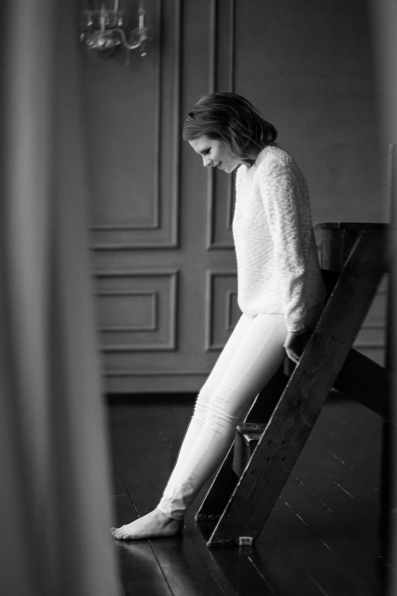 Оксана, жасмин, идеальный грубый свитер и силуэты