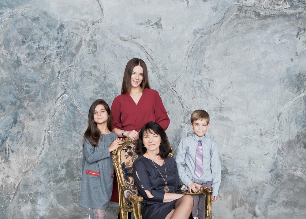 Катерина, Наталья, Анри и Франческа
