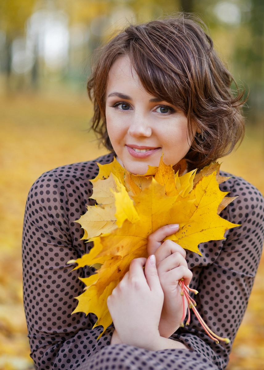 Маша и золото осени
