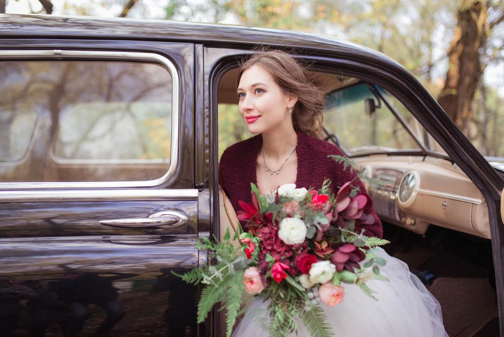Осенняя свадьба Светы и Феди