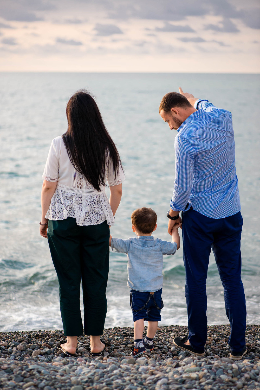 Семейная фотосессия для Венеры и ее мальчиков