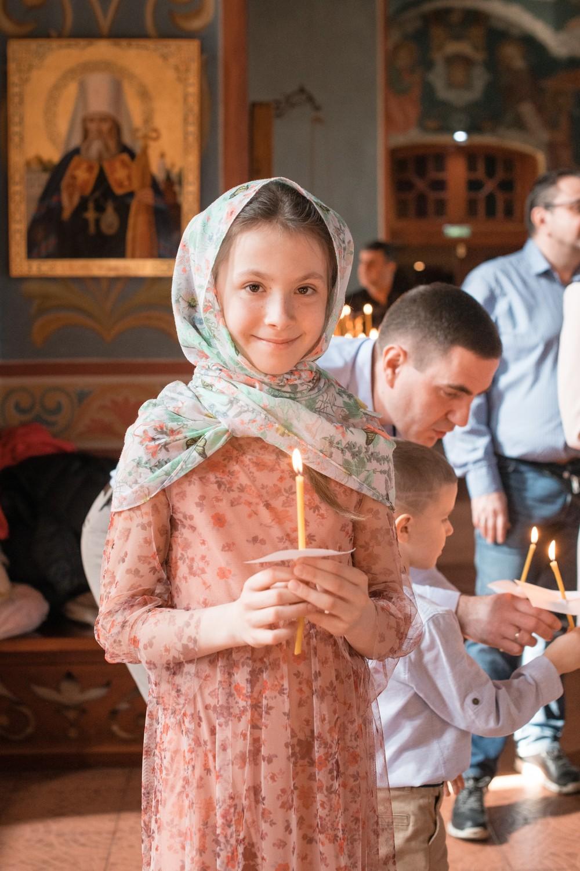 Крещение Анны