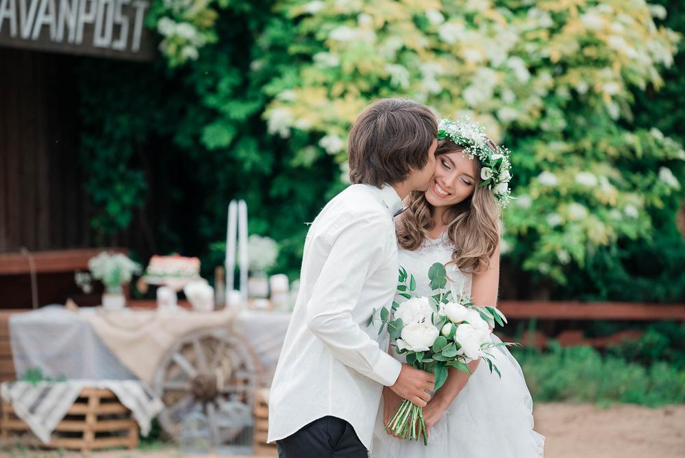 Свадьба в стиле Кантри