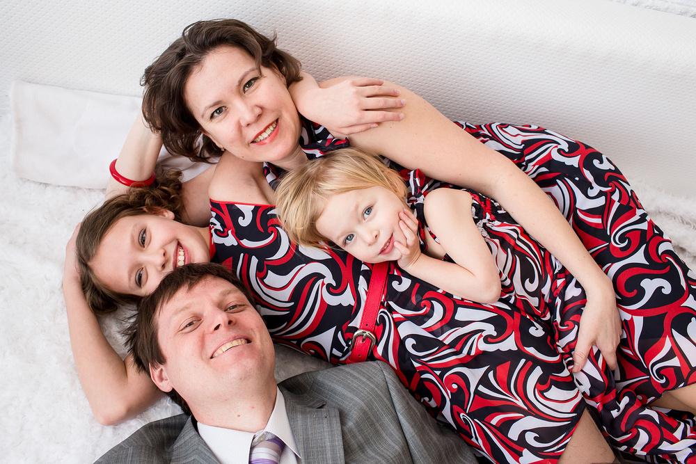 Семейная съемка в стиле