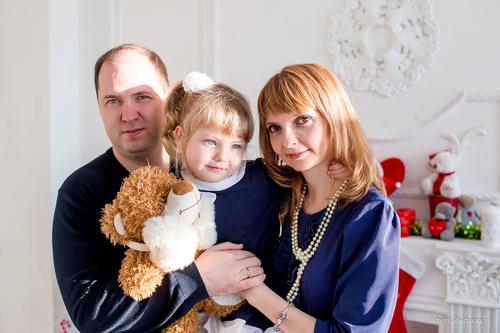 Семейная съемка в студии АКЗ