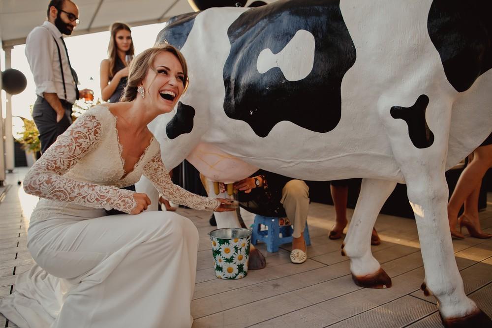 Алина и Данил | Стильная городская свадьба Urban Chic