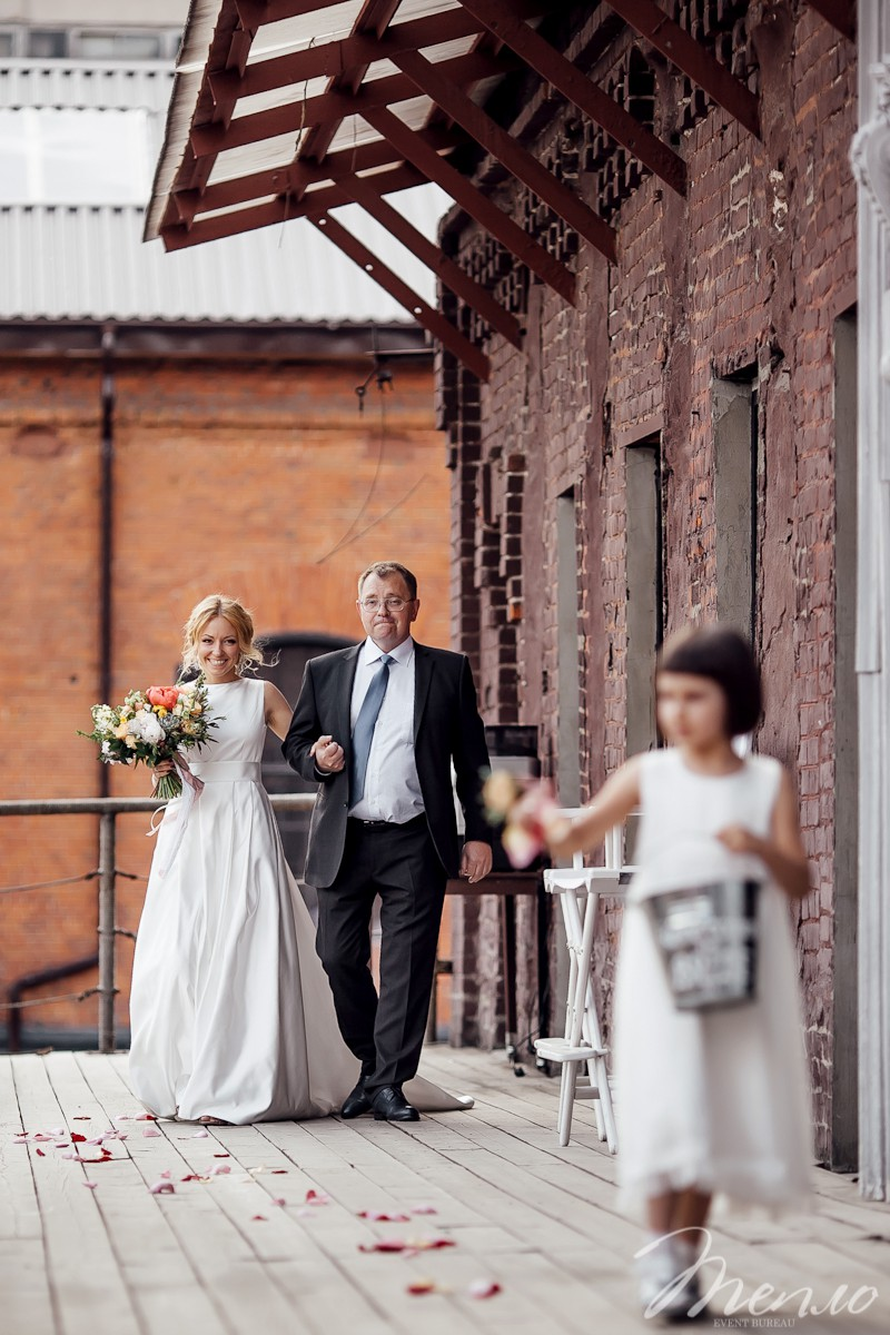 Полина и Андрей | Заводная свадьба в Loft 1905