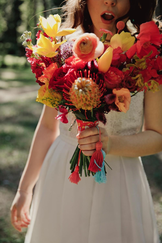 Ася и Никита | Яркая свадьба в стиле БОХО