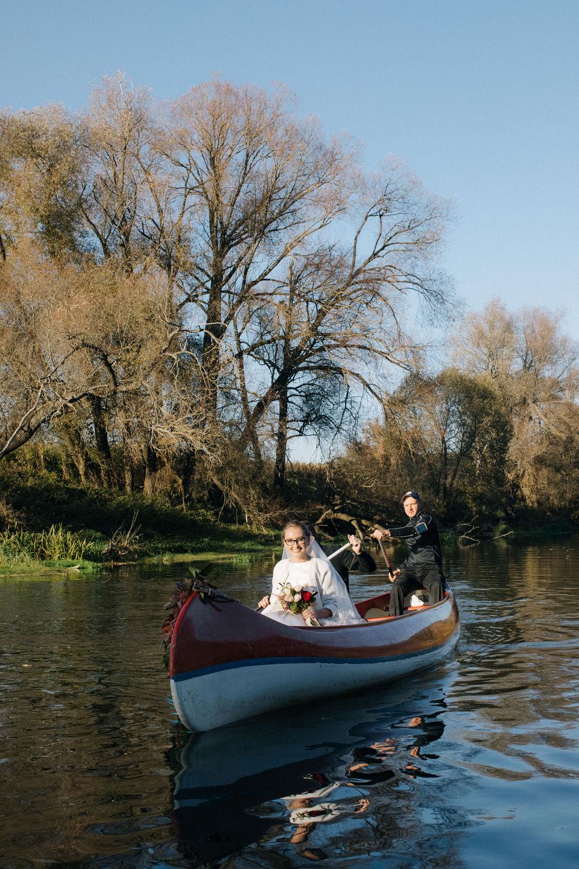 Катя и Андрей   Свадебная церемония на реке