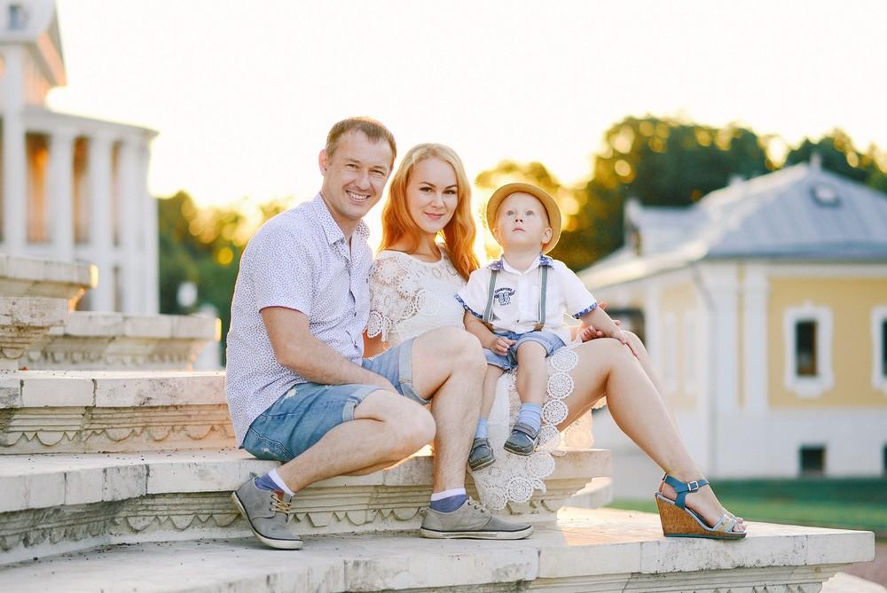 Zhenya, Nina & Vanya