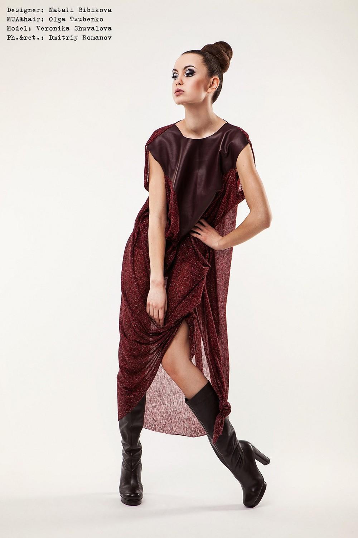 look-book by Natali Bibikova ukraine fashion designer