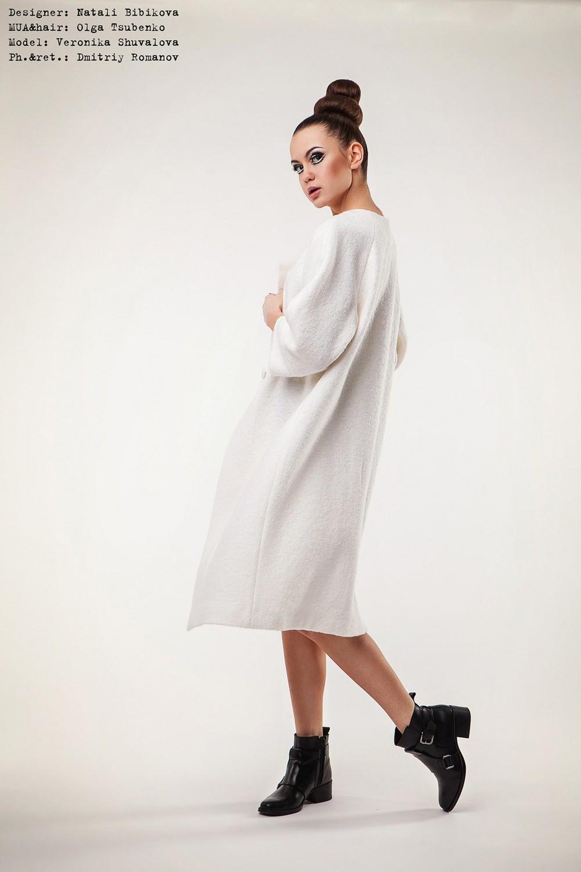 Дизайнерское пальто украинского дизайнера Натали Бибиковой