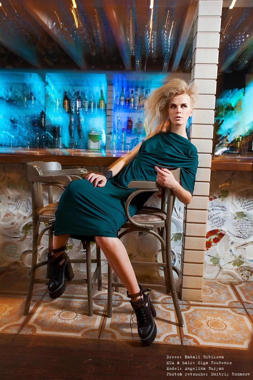 fashion mood in capsule collection by Natali Bibikova Fashion Designer