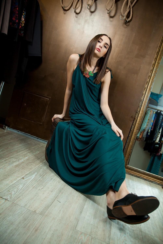 Авторские платье в капсульной коллекции украинского дизайнера Натали Бибиковой