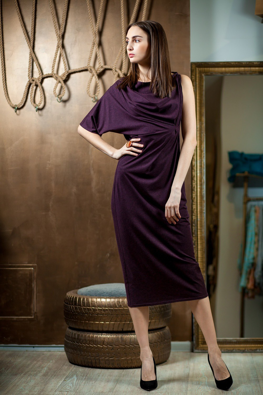 Individual designed dress by  ukrainian  fashion designer Natali Bibikova