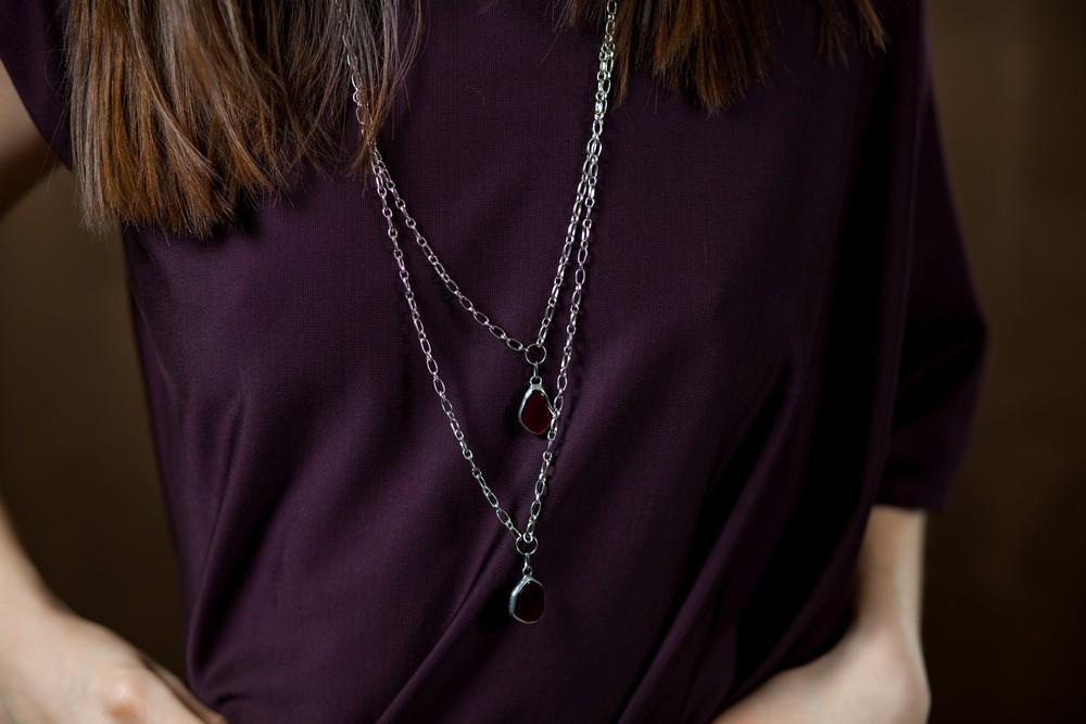 details of capsule collection by Natali Bibikova Fashion Designer