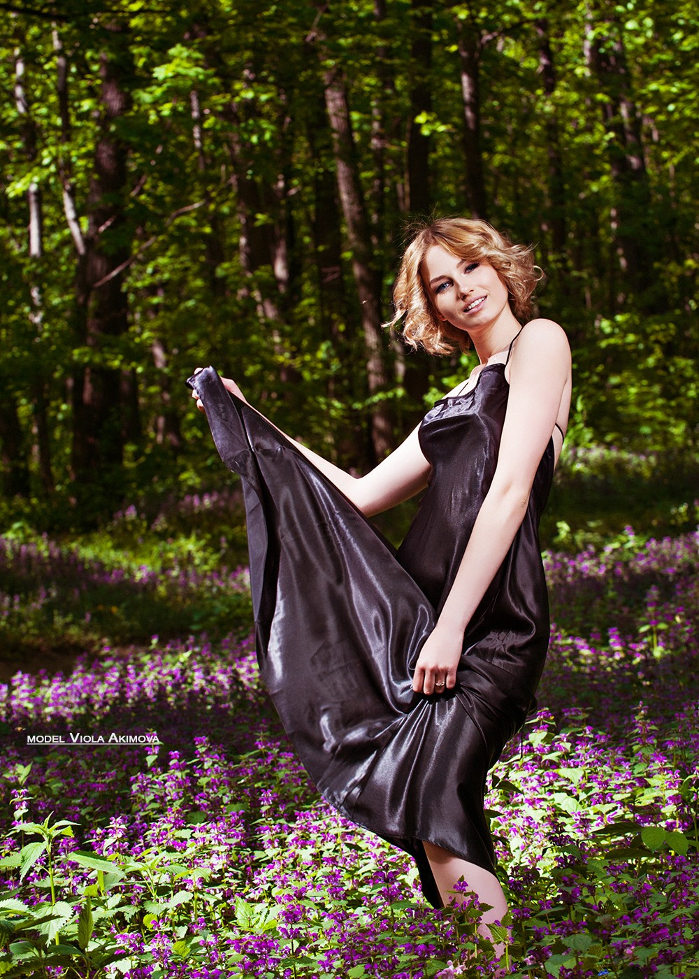 VIOLA in the forest