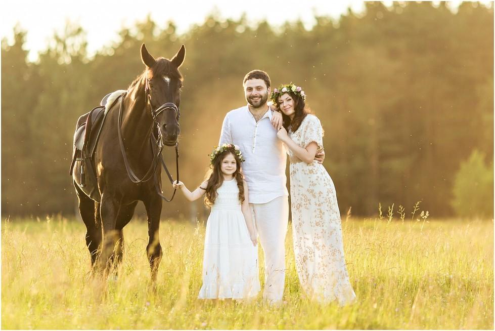 Семья Божены