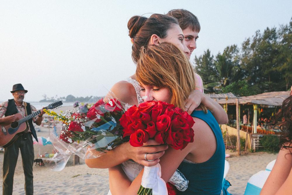 PORTFOLIO - ILYA & VITA/ GOA - Свадебная церемония Виты и Ильи в Гоа