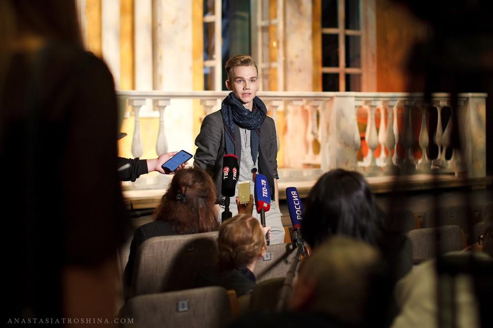 Владислав Миллер, пресс показ спектакля Ревизор