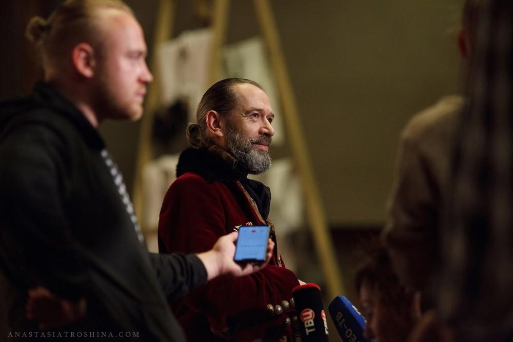 Владимир Машков, пресс показ спектакля Ревизор
