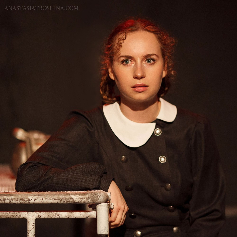 Актриса Диана Борина, премьера спектакля Что с тобой теперь?