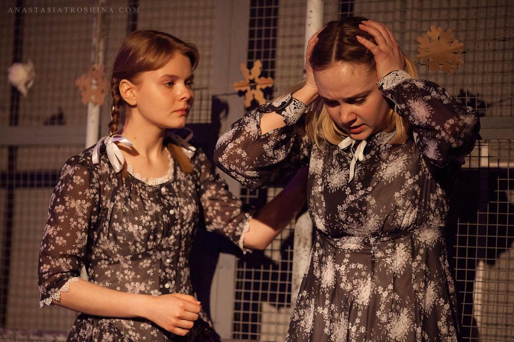 Елизавета Мазалова, Анастасия Савостьянова, спектакль Что с тобой теперь?