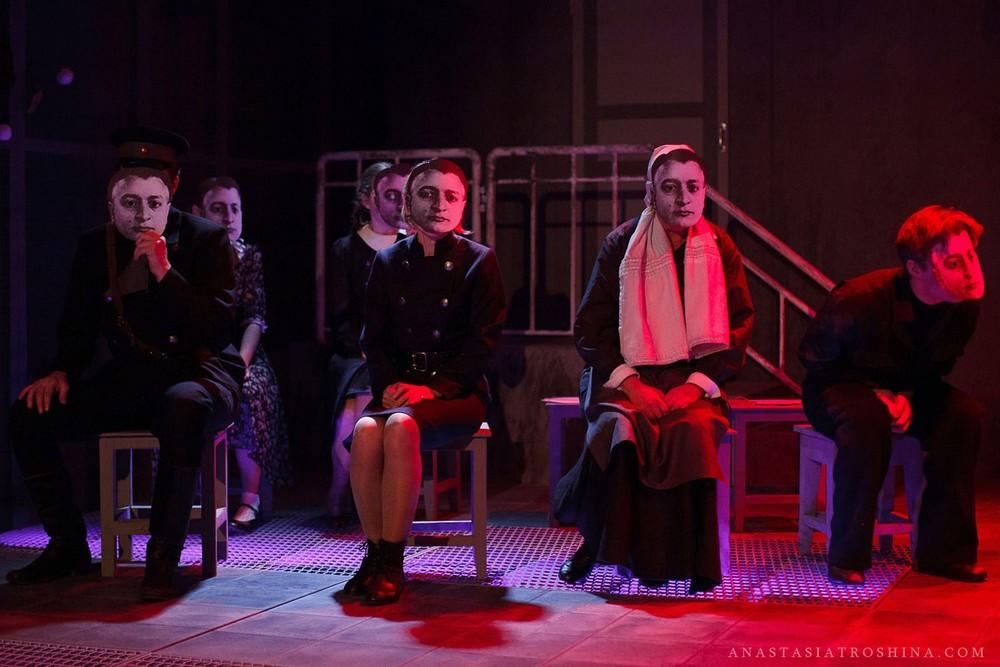 Премьера спектакля Что с тобой теперь? Экспериментальная сцена Театра Российской Армии