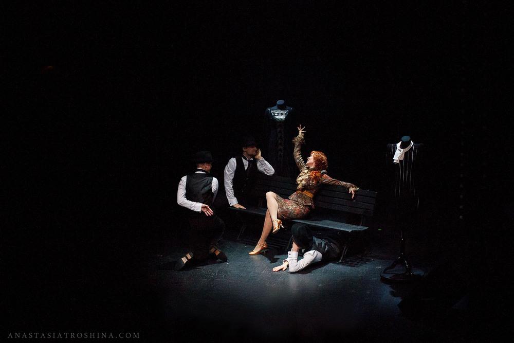 Театр Вахтангова, премьера спектакля Люся. Признание в любви.