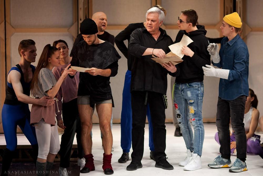 Театр Табакова, спектакль Мольер, avec amour