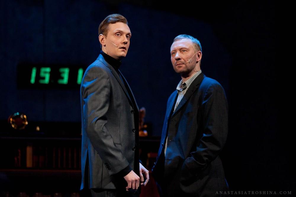 Дмитрий Куличков, Дмитрий Гурьянов, спектакль Бэтмен против Брежнева