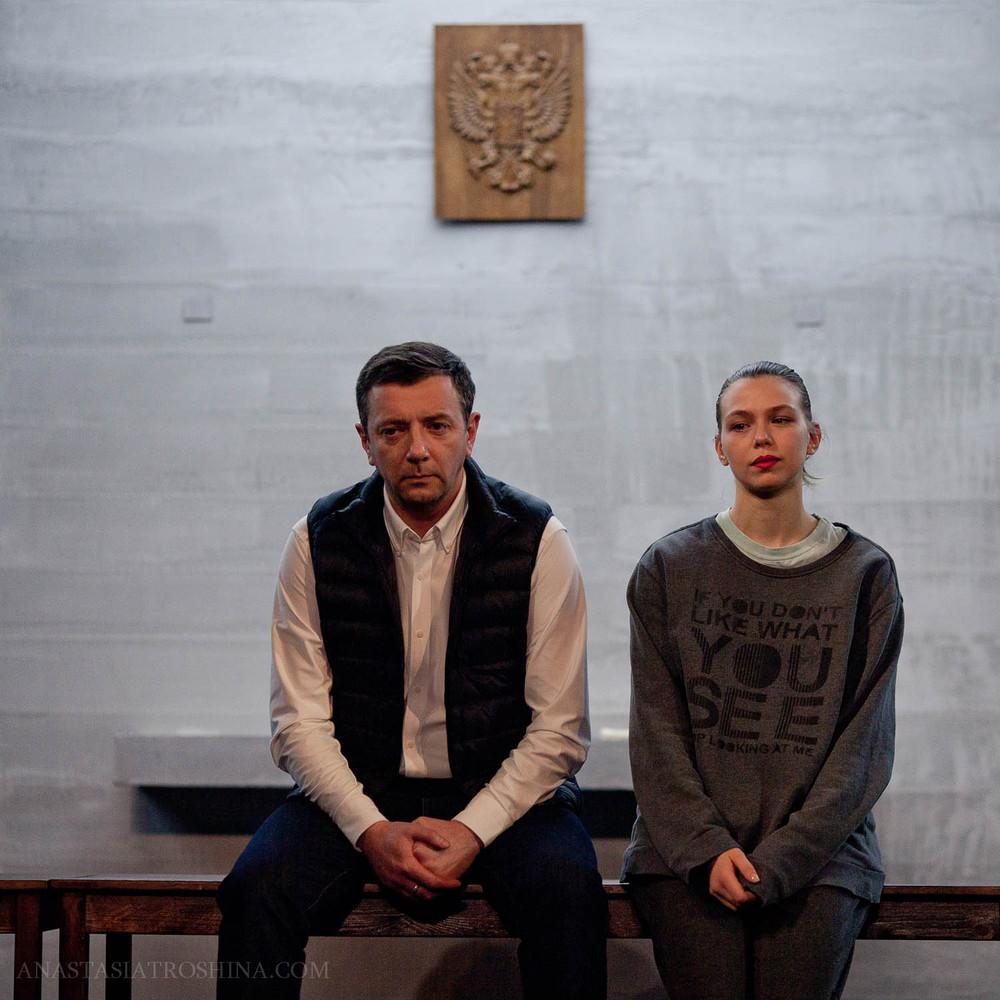 Таисия Вилкова, Алексей Агранович, спектакль Между делом, театр Пушкина
