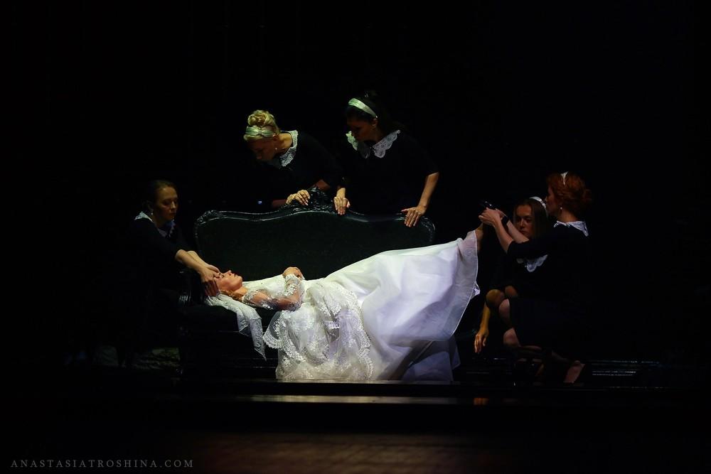 Театр Ермоловой, спектакль Леди Макбет Мценского уезда
