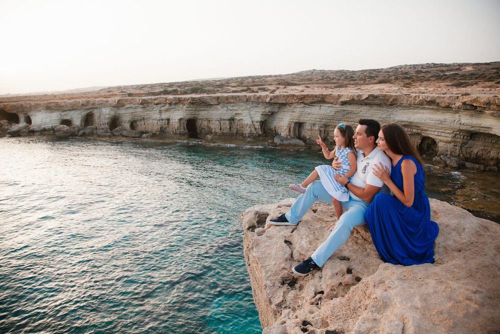 Кипр, Айя Напа, мыс Греко, семья, фотосессия, фотограф, cyprus, aiya napa, cavo greco, family
