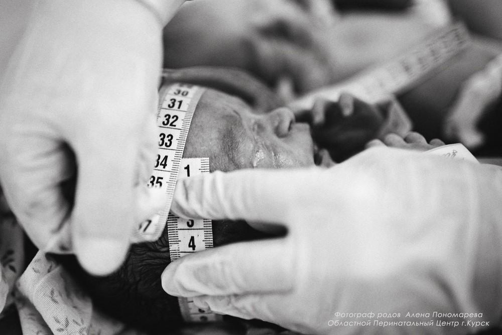 ПОРТФОЛИО - РОДЫ - Фотограф на роды в Курске, ОПЦ Курск, родзал