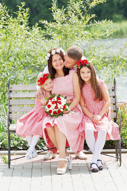 СВАДЕБНЫЕ ФОТОГРАФИИ - Хрустальная свадьба, 15 лет
