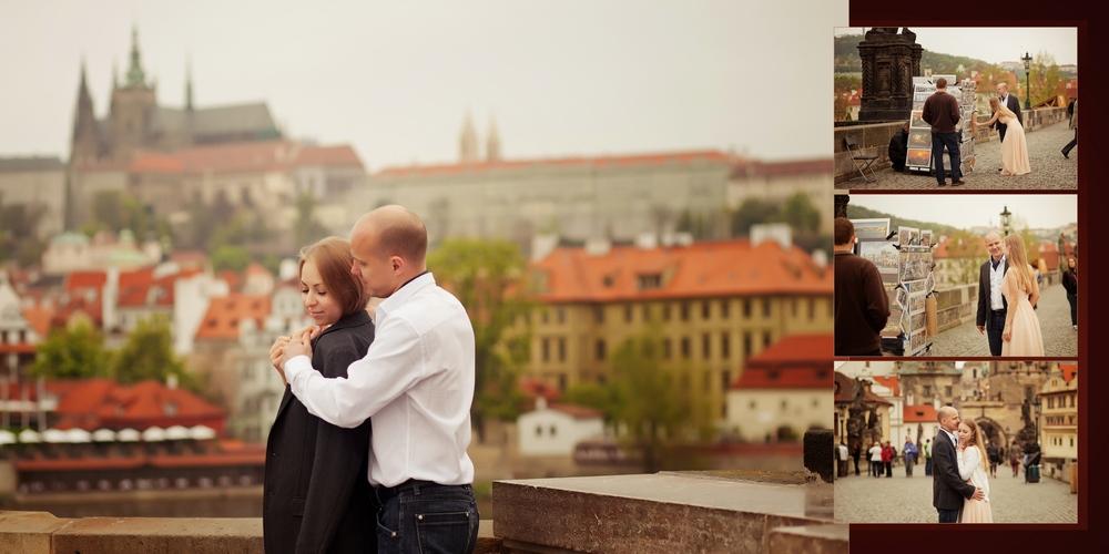 Саша и Вика. Прага