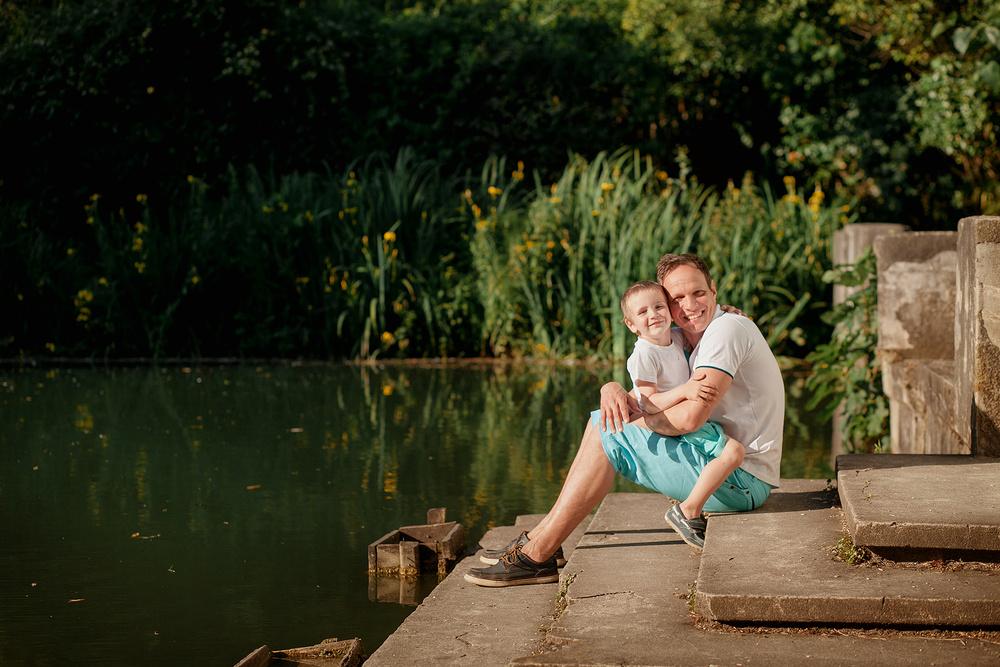 Оля Андрей и Саша