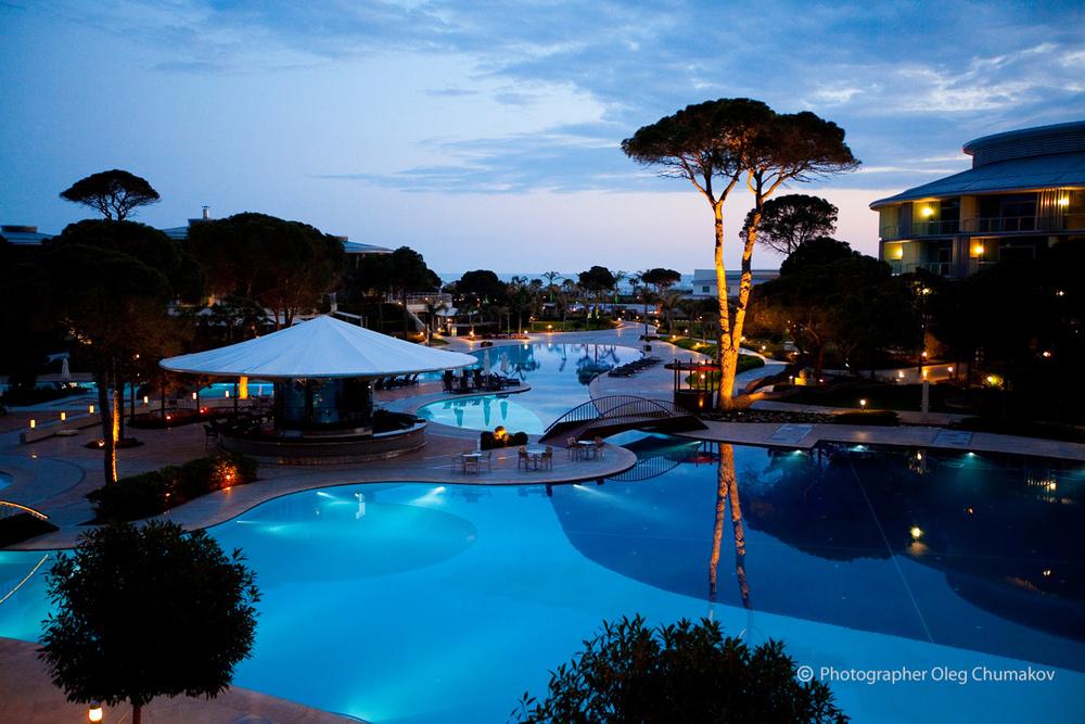 Архитектура/Интерьеры - Фотосъемка для отеля Calista Luxury Resort