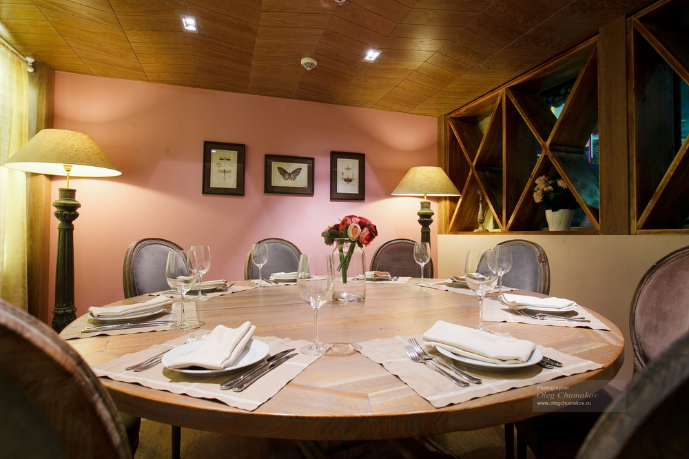 Архитектура/Интерьеры - Фотосъемка ресторана Mammina. Москва