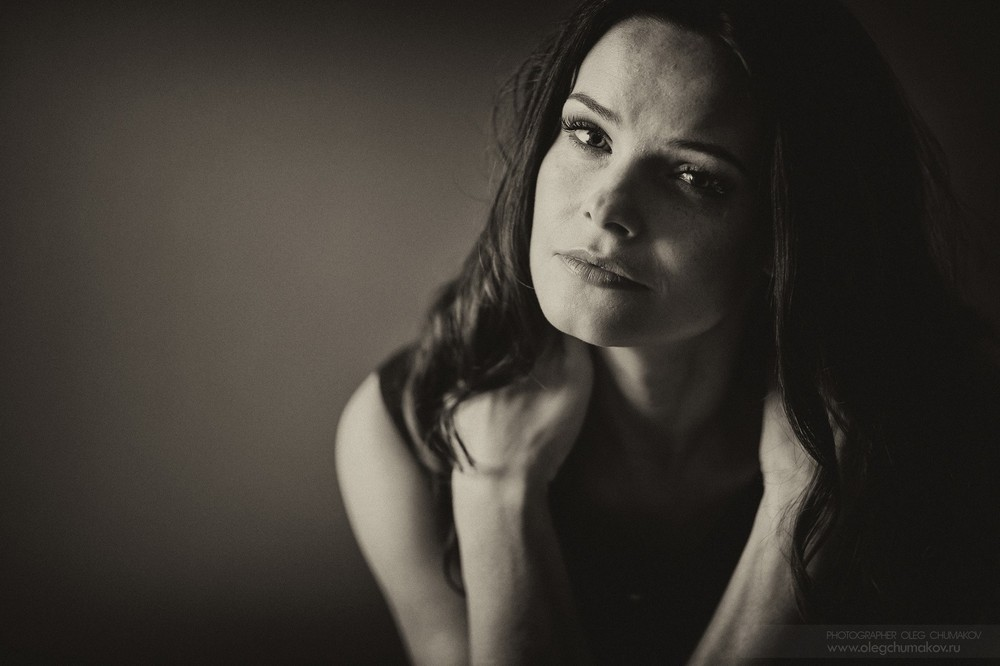 Portraits - Anna Pescova. Actress